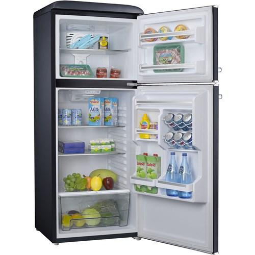 Retro-style 10 cubic foot refrigerator