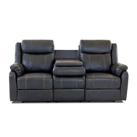RECLINING SOFA WITH DROP DOWN