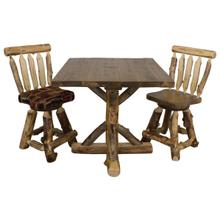 A297 Square Bistro Gathering Table