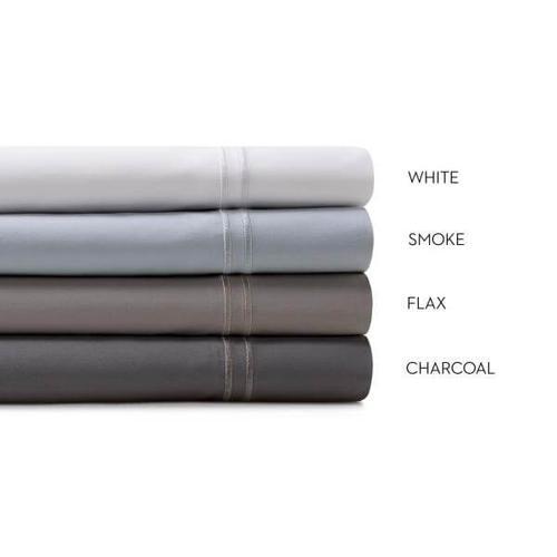 Malouf - Woven Supima Cotton Sheet Set, Split King, Smoke