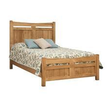 Homestead Bed with Wooden Panels