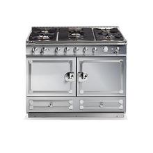 "CornuFe 110 cm Duel-Fuel Range (43"")- Stainless Steel w/ Satin Chrome Trim"