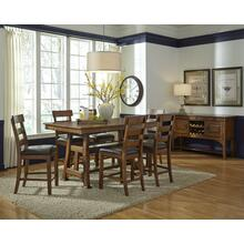 See Details - Gathering Table with 6 Stools