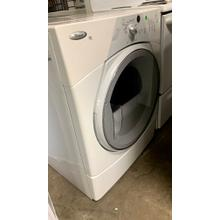 Product Image - USED- White w/ Gray Accents Duet Sport® Electric Dryer - FLDRYE27W-U  SERIAL #79