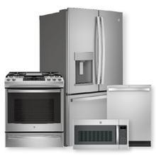 See Details - 27.7 Cu. Ft. Fingerprint Resistant French-Door Refrigerator & Slide-In Front-Control Convection Gas Range Package