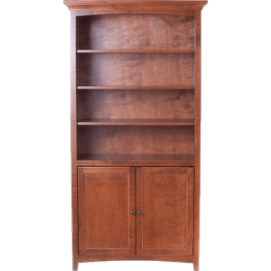 McKenzie center wall unit with doors