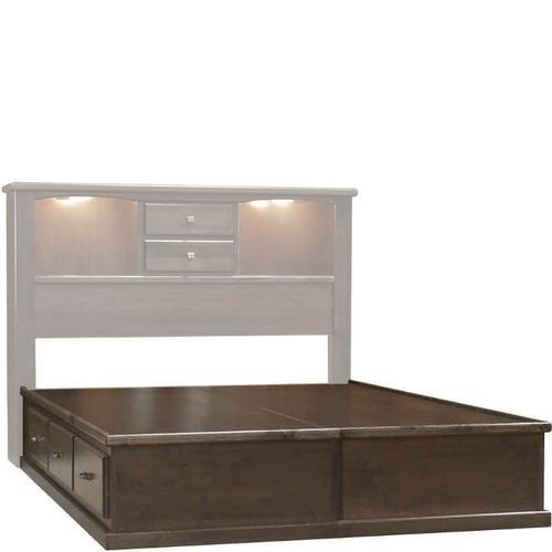 Wolfcraft Furniture - Vesper 6 Drawer Foundation Full