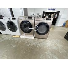 See Details - ***ANKENY LOCATION LAUNDRY PAIR*** 4.5 cu. ft. Smart Front Load Washer with Super Speed in Champagne AND 7.5 cu. ft. Smart Electric Dryer with Steam Sanitize  **OPEN BOX WITH WARRANTY***