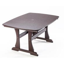 """See Details - Traditional Dining Height 56"""" Table"""