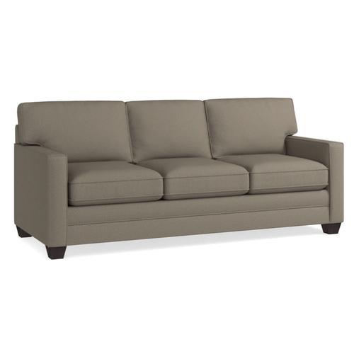 Bassett Furniture - Alex Track Arm Sofa - Fog