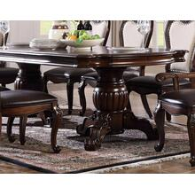 See Details - Windsor Hills Traditional Cherry Finish Dining Table