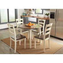 Woodanville Drop Leaf 5 pc Dining Set