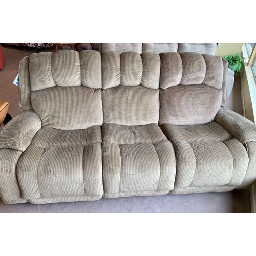 Flexsteel - Huron Fabric Power Reclining Sofa-Floor Sample-**DISCONTINUED**