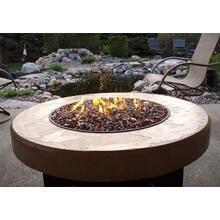 Oriflamme Tuscan Round Fire Table