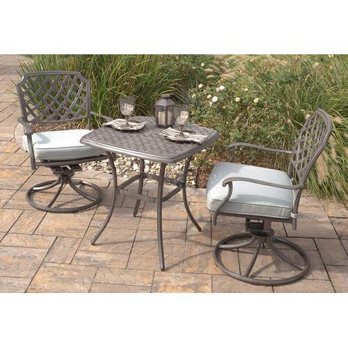 Agio Melbourne Swivel Rocker Patio Chair with Seat Pad