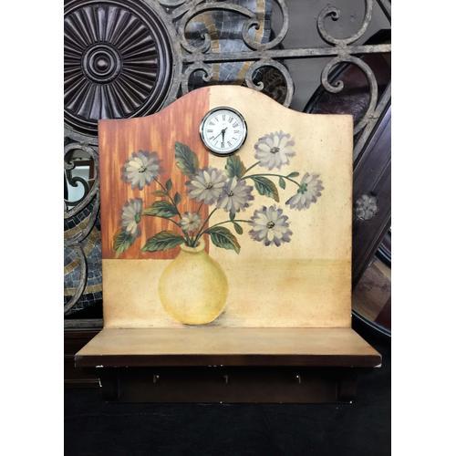 Clock, Shelf