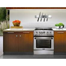 "30"" four burner gas self-clean range w/ 12"" Infra-Q + convection oven "" LP"