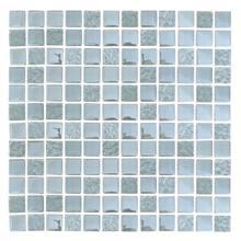 DGG001 Iridescent Glass Mosaic - WHITE