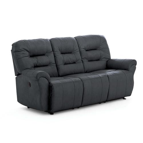 Unity Reclining Leather Sofa (Steel)