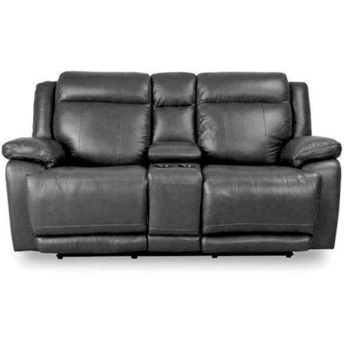 Bassett Furniture - Evo Graphie Power Console Loveseat