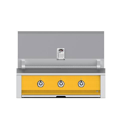 "Product Image - Aspire By Hestan 36"" Built-In U-Burner Grill LP Yellow"
