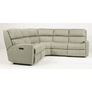 Catalina Fabric Reclining 4 Seat Sofa