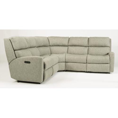 Flexsteel - Catalina Fabric Reclining Sectional