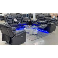 S2020 3PC Power Reclining Living Room Set With Bluetooth Speaker (SOFA, LOVE  & RECLINER)