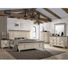 4 Piece Queen Antique Bedroom set