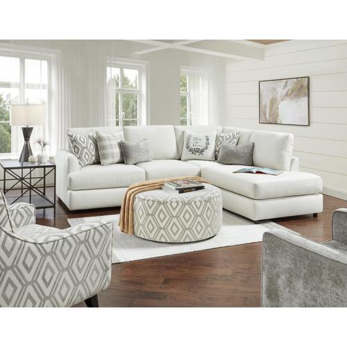 Studio Linen Sofa w/ Chaise