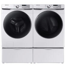 SAMSUNG 4.5 cu. ft. Front Load Washer with Steam & 7.5 cu. ft. Electric Dryer with Steam Sanitize -Open Box
