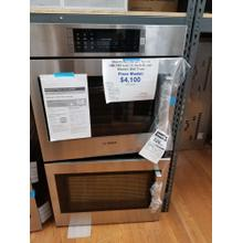 """See Details - Bosch Benchmark Series 30"""" Electric Double Wall Oven HBLP651UC (FLOOR MODEL)"""