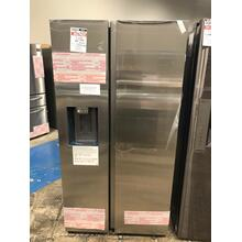 27.4 cu. ft. Large Capacity Side-by-Side Refrigerator in Stainless Steel **OPEN BOX ITEM** West Des Moines Location