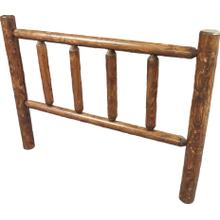 King Log Headboard