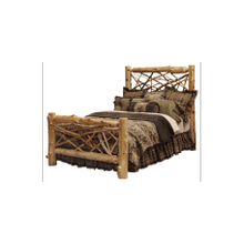 Cedar Twig Log Bed