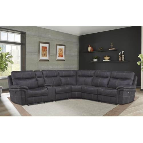 Power Reclining Sectional - Reversible Pieces