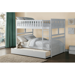 Galen Bunk Bed Full on Full with Twin Trundle
