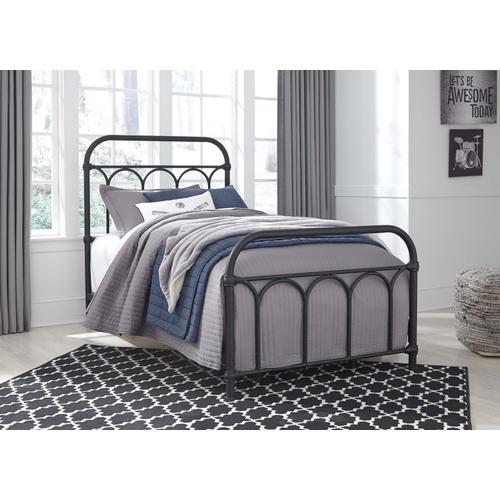 Nashburg Metal Bed - Twin