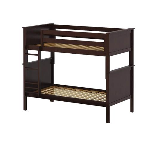 Jackpot Bristol Twin/Twin Bunk In Cherry Finish