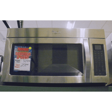 Whirlpool® 1.7 Cu. Ft. Microwave Hood Combination with Hidden Vent (This One Only)