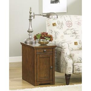 Laflorn Chair Side End Table - Brown