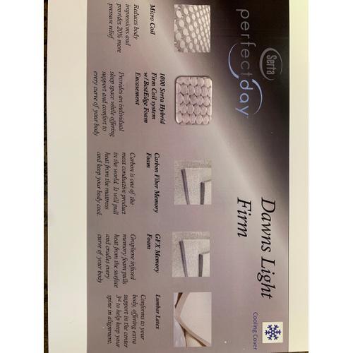Serta - Dawns Light Firm Mattress