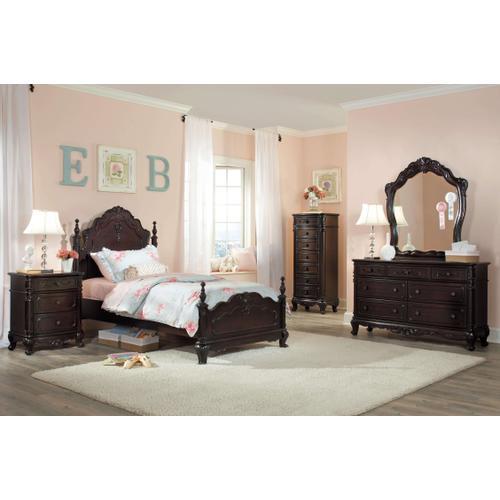 Cinderella 4Pc Twin Bed Set