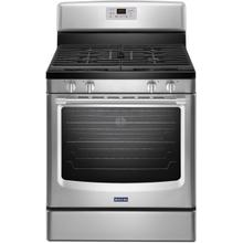 See Details - 30 Inch Freestanding Gas Range with 4 Sealed Burners, 5.8 cu. ft. EvenAir Convection Oven, Maytag