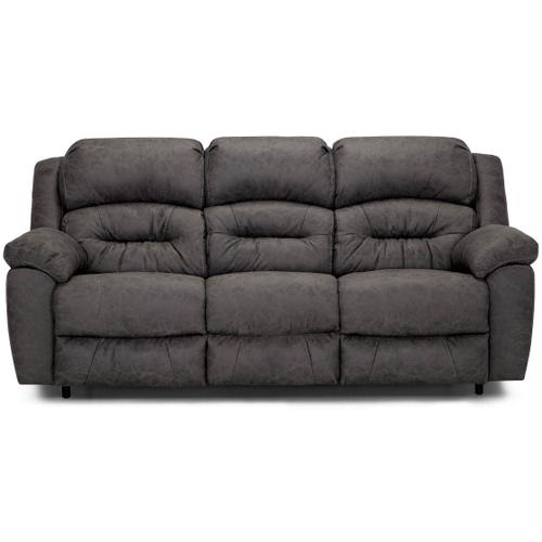 Bellamy Power Reclining Sofa in Cowboy Graphite Fabric