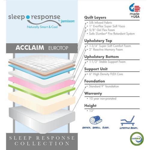 Sleep Response Collection - Acclaim - Euro Top