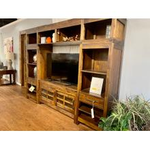 See Details - CLOSEOUT Entertainment Wall Unit