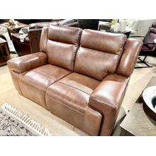 See Details - Juno Whiskey Reclining Loveseat