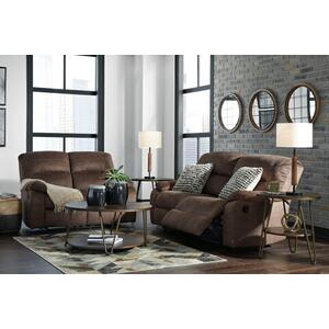 Bolzano- Coffee Reclining Sofa and Loveseat