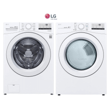 LG Front Load Pair